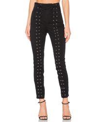 A.L.C. - Pantalones kingsley en color negro - Lyst