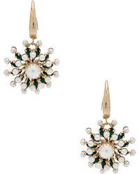Anton Heunis - Sputnik Flower Dangly Earrings - Lyst