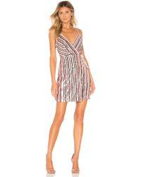 BCBGMAXAZRIA - Multi Colour Sequin Dress - Lyst