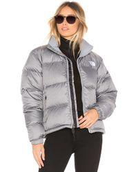 The North Face - 1996 Retro Nuptse Jacket (tnf Medium Grey Heather) Women's Coat - Lyst