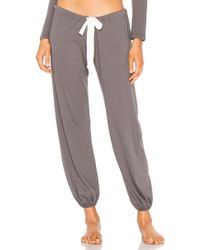 Eberjey - Cropped Heather Pant - Lyst