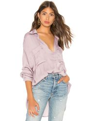 Free People - Starry Dreams Pullover In Lavender - Lyst