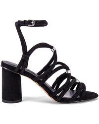 Rebecca Minkoff - Sandalia apolline en color negro - Lyst