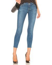 J Brand - 9326 Low Rise Crop Skinny Jean - Lyst