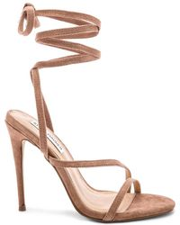 6432ff3a34d Lyst - Steve Madden Immence Heel in Natural
