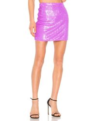 X By NBD - Chiquitita Skirt In Lavender - Lyst