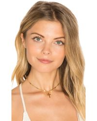 Frasier Sterling - Confessions Choker In Metallic Gold. - Lyst