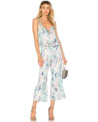 Splendid - Cinched Jumpsuit - Lyst