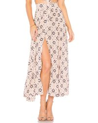 Nightcap - Moroccan Tile Skirt In Pink - Lyst