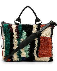 Cleobella - Liz Weekend Bag In Black. - Lyst