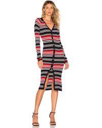 Nicholas - Merino Wool Blend Knit Cardigan Dress - Lyst