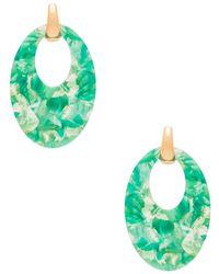 Amber Sceats - X Revolve Kai Earrings In Green. - Lyst