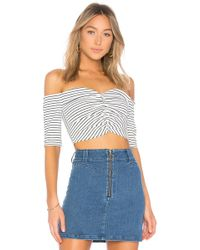 Finders Keepers - Sirocco Top In White - Lyst