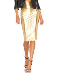 Norma Kamali - Straight Skirt - Lyst