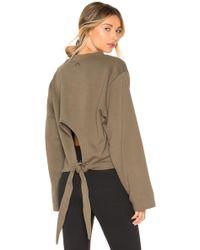 Varley - Weymouth Sweatshirt In Olive - Lyst