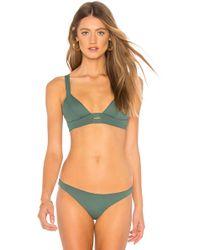 Vitamin A - Neutra Bikini Top In Green - Lyst