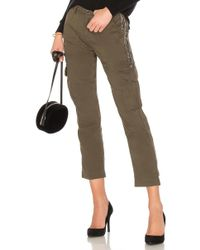 Joie - Embellished Cargo Pant In Green - Lyst