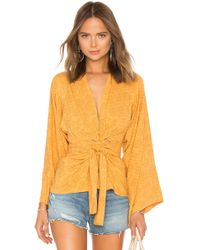 Jen's Pirate Booty - Contessa Top In Yellow - Lyst