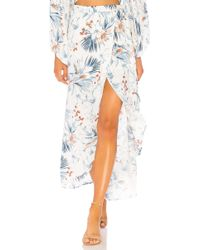 L*Space - L* Whitney Wrap Skirt In White - Lyst