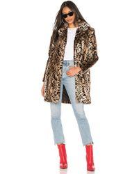 BB Dakota - Bradshaw Faux Fur Coat - Lyst
