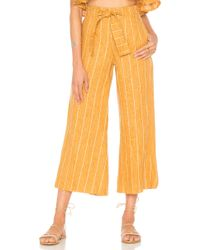 Faithfull The Brand - Como Trousers In Mustard - Lyst