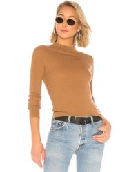 360cashmere - Betty Sweater In Tan - Lyst