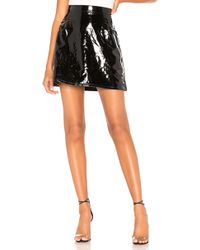 Dr. Denim - Lolo Faux Leather Skirt - Lyst