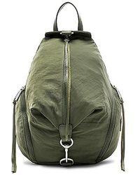 Rebecca Minkoff - Julian Nylon Backpack In Olive. - Lyst