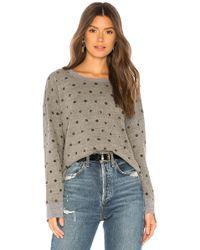 Splendid - Paint Dot Sweatshirt - Lyst