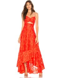 Free People - Buona Sera Maxi Dress - Lyst