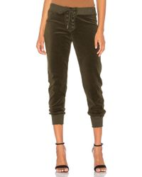 Pam & Gela - Cropped Sweatpant - Lyst