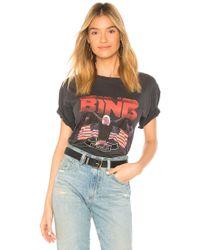Anine Bing Camiseta vintage bing