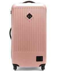 Herschel Supply Co. - Trade Large Suitcase In Rose. - Lyst