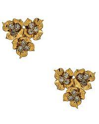 Jennifer Behr - Maye Earrings In Gold. - Lyst