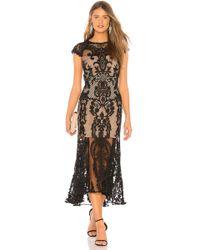 Bronx and Banco - Boho Summer Dress In Black - Lyst