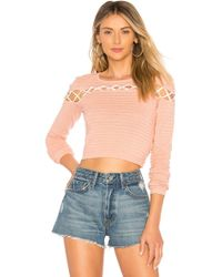 Lovers + Friends - All Tied Up Jumper - Lyst