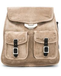 Rag & Bone - Small Field Backpack In Taupe. - Lyst
