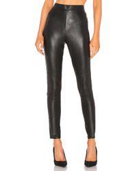Splendid - Downtown Faux Leather Legging In Black - Lyst
