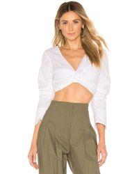 A.L.C. - Elise top en color blanco - Lyst