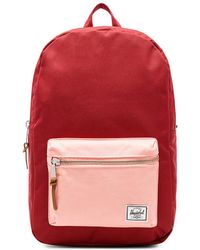 Herschel Supply Co. - Settlement Backpack In Brick. - Lyst