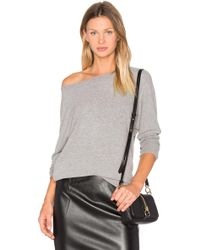 Cupcakes And Cashmere - Minny Sweatshirt In Grey - Lyst