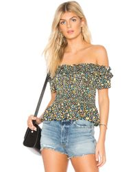 BCBGeneration - Smocked Crop Top - Lyst