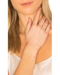 EF Collection - Diamond Bezel Teardrop Bracelet - Lyst