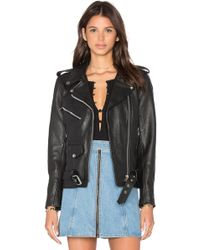 Urban Outfitters - X Revolve Easy Rider Moto Jacket - Lyst