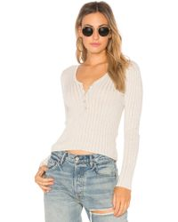 Obey - Mazzy V-neck Top - Lyst