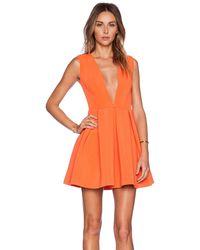 AQ/AQ - Vicious Mini Dress - Lyst