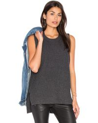 Baldwin Denim | Moe Sleeveless Jumper | Lyst