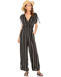 Band Of Gypsies - Pinstripe Jumpsuit - Lyst