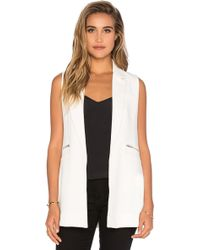 Bishop + Young - Sleeveless Tunic Vest - Lyst