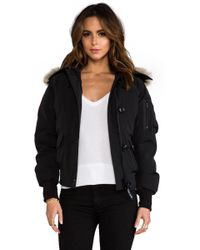 Canada Goose - Chilliwack Bomber With Coyote Fur - Lyst